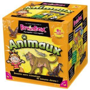Jeu de société - BrainBox animaux