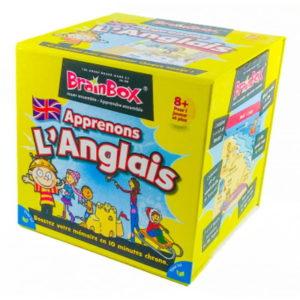 Jeu de société - BrainBox apprenons l'anglais