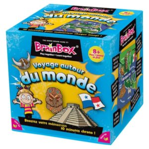 Jeu de société - BrainBox voyage autour du monde