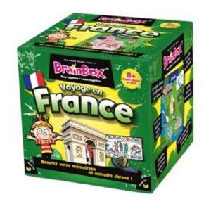 Jeu de société - BrainBox voyage en France