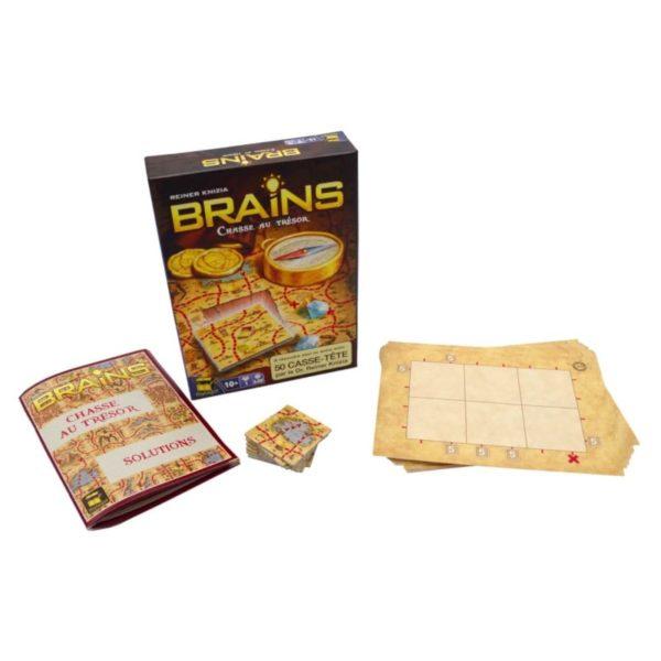 Jeu de société - Brains : chasse au trésor