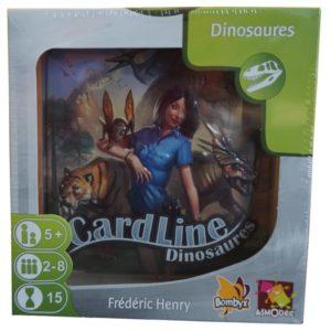 Jeu de société - Cardline dinosaures
