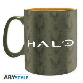 Coffret Halo : Masterchief (mug, porte-clés, badges)