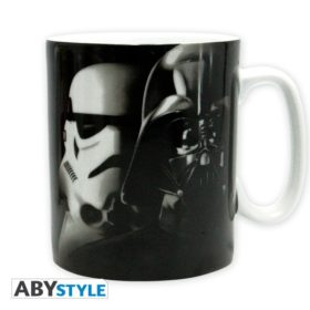 Coffret Star Wars : Vador-Trooper (mug, porte-clés, badges)