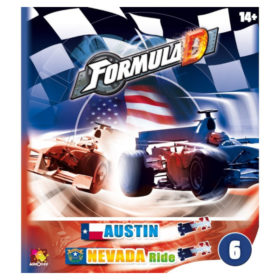 Jeu de société - Formula D : Austin / Nevada (extension)