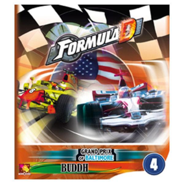 Jeu de société - Formula D : Baltimore / Budh (extension)
