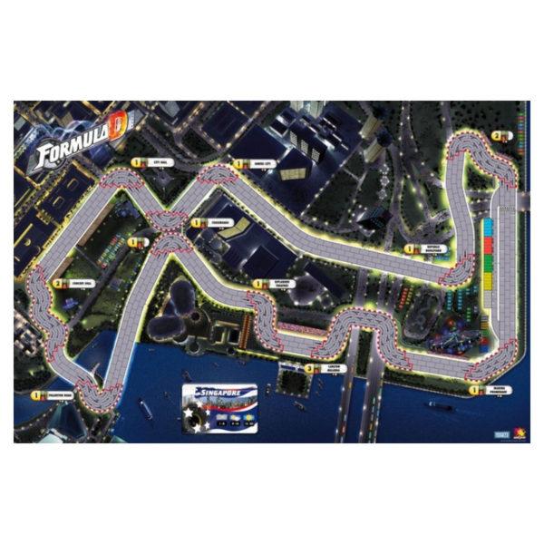 Jeu de société - Formula D : Singapour / Les docks (extension)