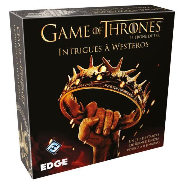 Jeu de société - Le trône de fer : intrigue à Westeros