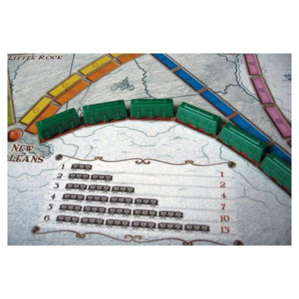 Jeu de société - Les aventuriers du rail