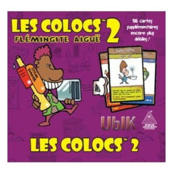 Jeu de société - Les colocs 2, flemmingite aigue (extension)