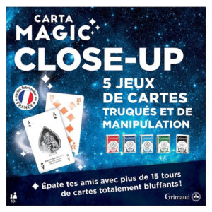Magie - Grand coffret de 5 jeux de magie close up