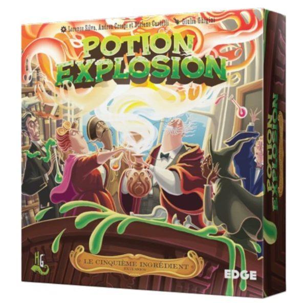 Jeu de société - Potion explosion : le cinquième ingrédient (extension)