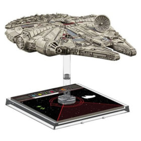 Star Wars X-wing : Faucon Millenium (figurine)
