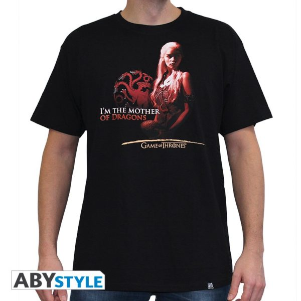 T-shirt Game of thrones : mother of dragons (homme)