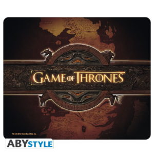 Tapis de souris Game of thrones : Logo & cartes