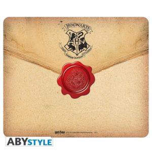 Tapis de souris Harry Potter : Lettre Poudlard