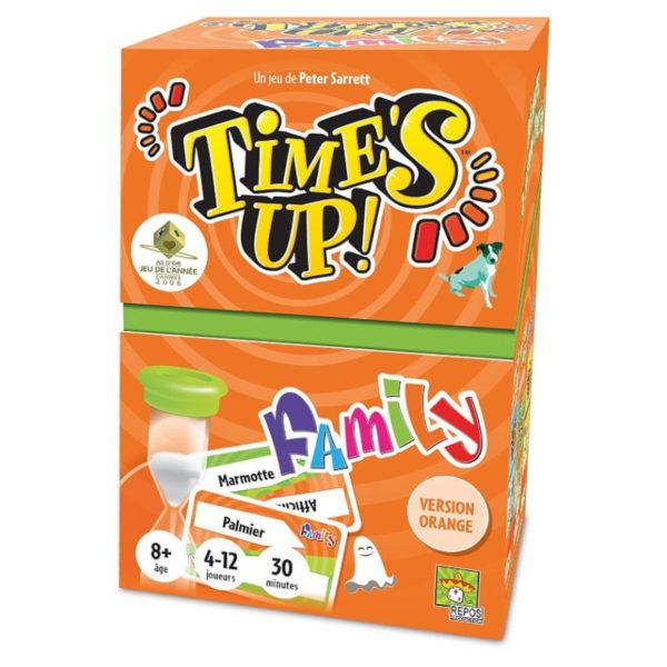 Jeu de société - Time's up family orange