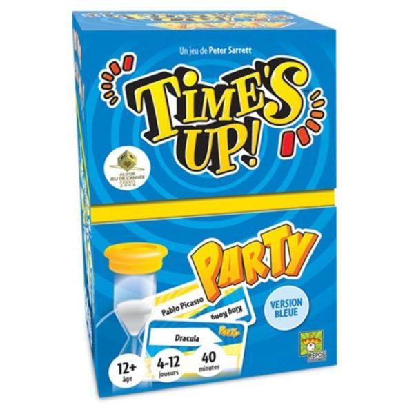 Jeu de société - Time's up party bleu