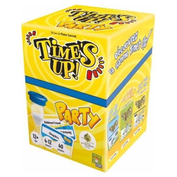 Jeu de société - Time's up party jaune