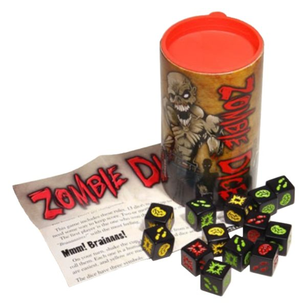 Jeu de société - Zombie dice