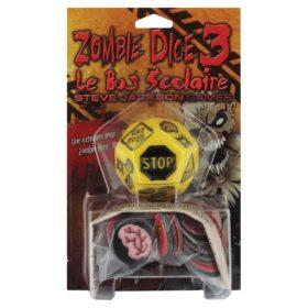 Jeu de société - Zombie dice 3 : le bus scolaire (extension)