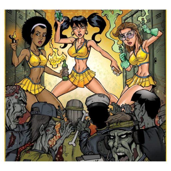 Jeu de société - Zombies vs Cheerleaders