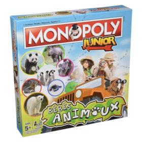 Jeu de société - Monopoly junior : bébés animaux