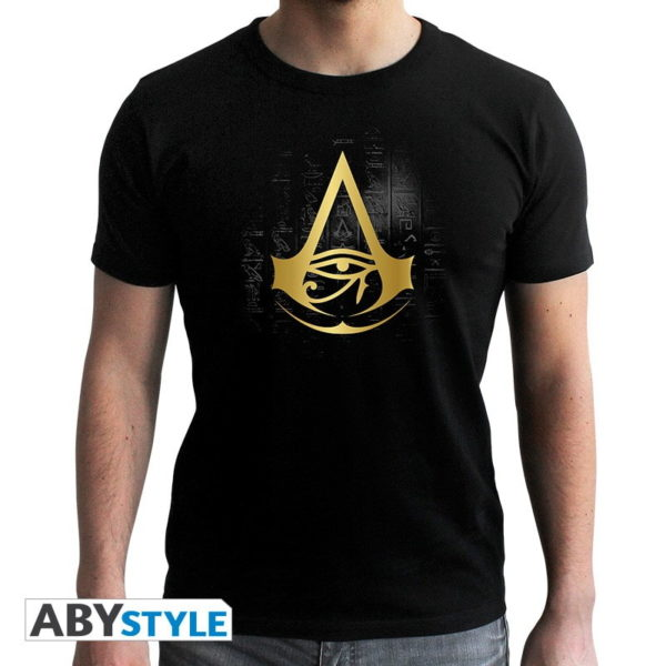 T-shirt Assassin's creed : Crest doré