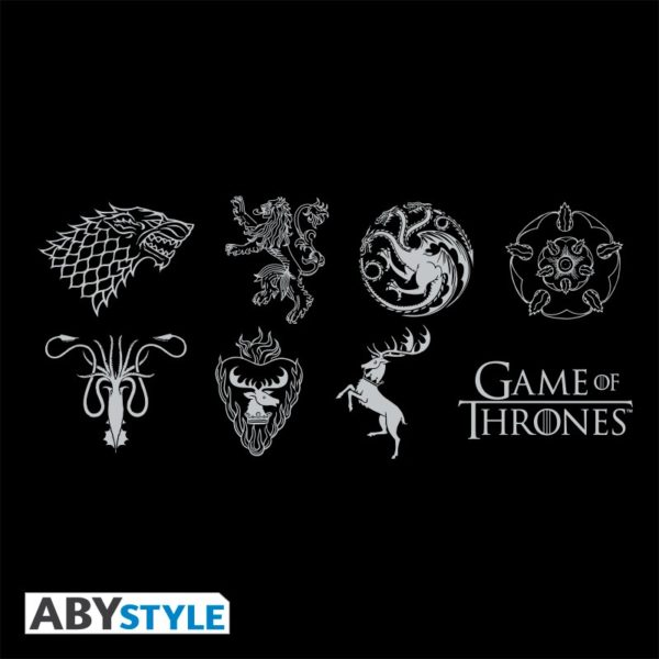 T-shirt Game of thrones : Sigles