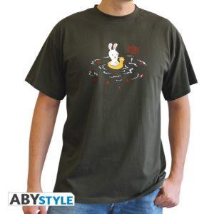 T-shirt Lapins crétins : Piranha