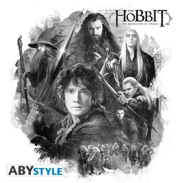 T-shirt le Hobbit : Groupe