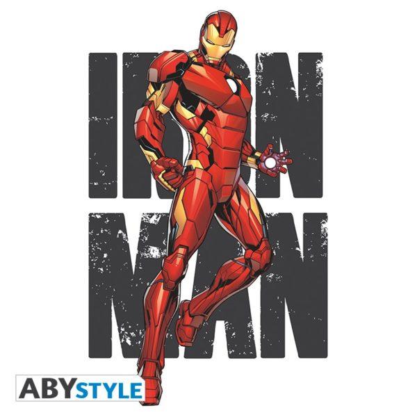 T-shirt Marvel : Iron Man classic