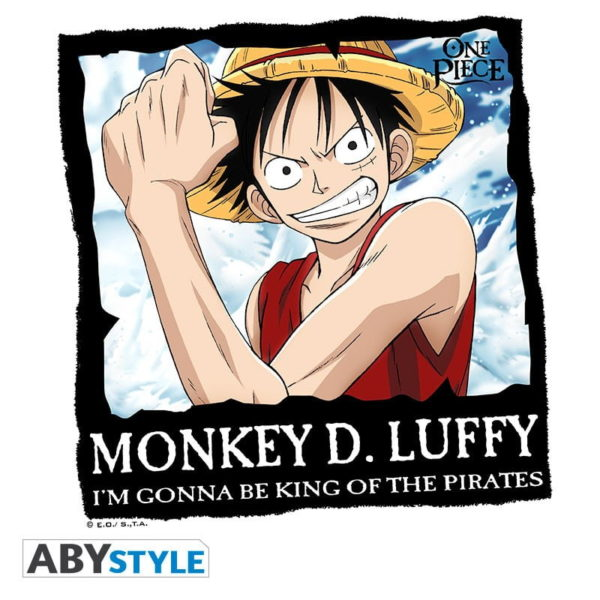 T-shirt One piece : Luffy - Dead or alive