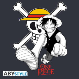 T-shirt One piece : Luffy & Emblem