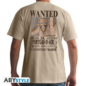T-shirt One piece : Wanted ACE