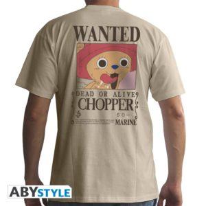 T-shirt One piece : Wanted Chopper