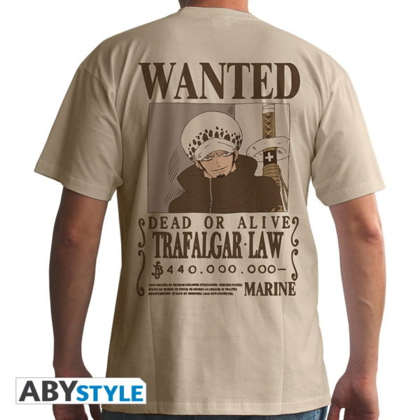 T-shirt One piece : Wanted Trafalgar law