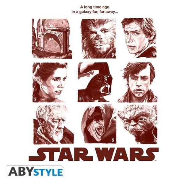 T-shirt Star wars : Galerie portraits