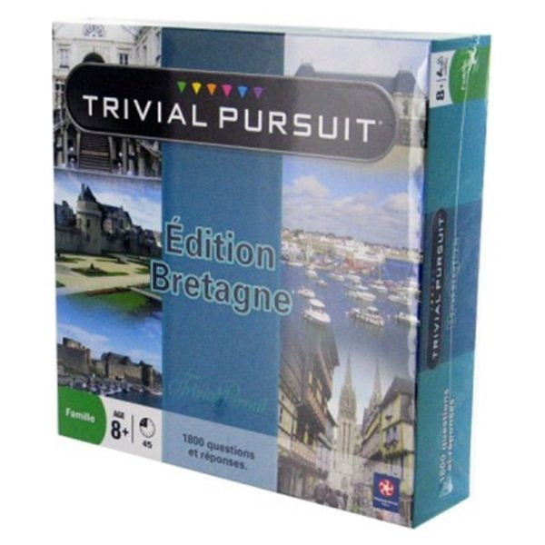 Jeu de société - Trivial pursuit Bretagne (1 800 questions)