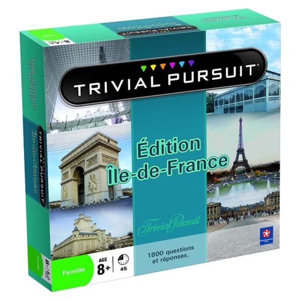 Jeu de société - Trivial pursuit Ile-de-France (1 800 questions)