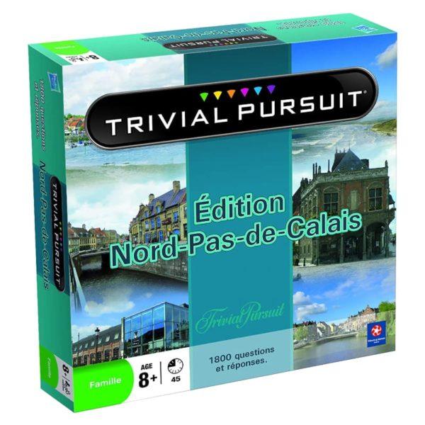 Jeu de société - Trivial pursuit Nord-pas-de-Calais (1 800 questions)
