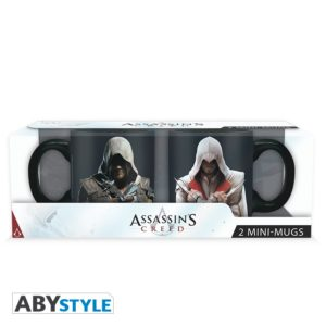 Mini-mugs Assassin's creed : Ezio et Edward (110ml)