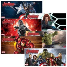 Assortiment 6 mugs Marvel Avengers : Age of Ultron (320ml)