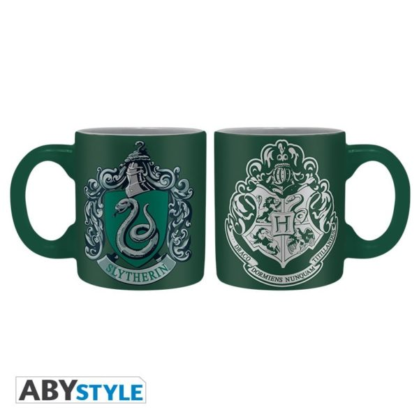 Mini-mugs Harry Potter : Serpentard et Poufsouffle (110ml)