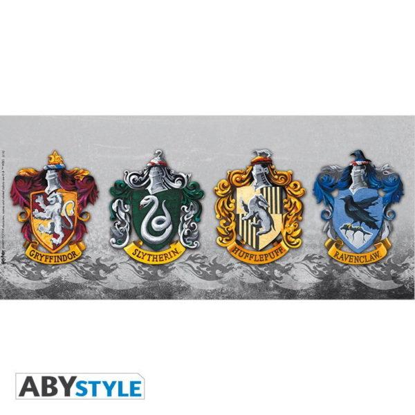 Mug Harry Potter : Les 4 maisons (320ml)