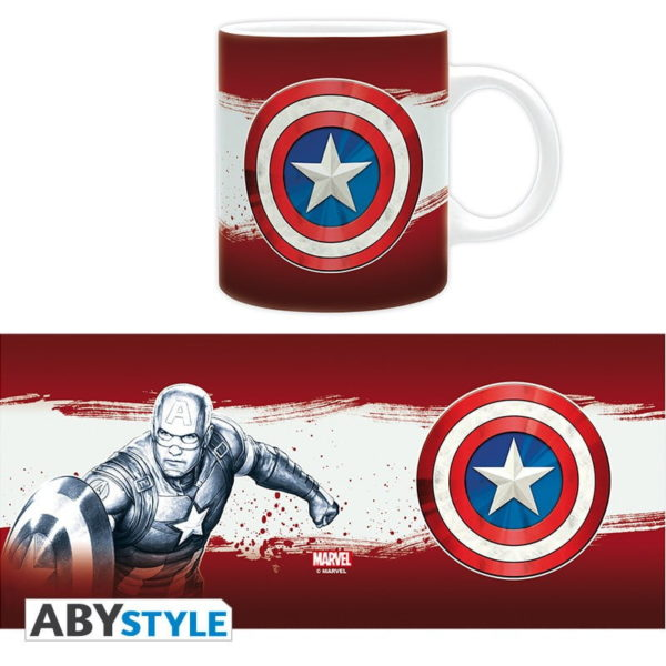 Mug Marvel : Captain America classic (320ml)
