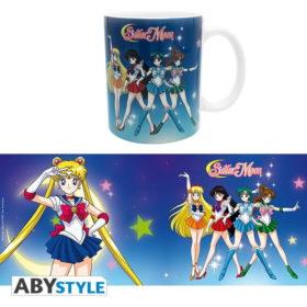 Mug Sailor Moon : Sailor guerrières (320ml)