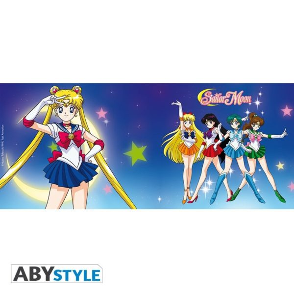 Mug Sailor Moon : Sailor guerrières (320ml)