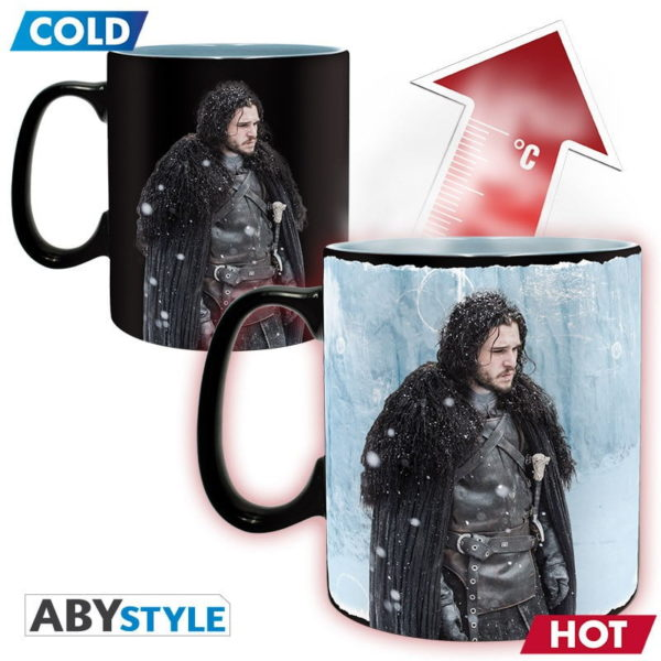 Mug Game of thrones : Winter is here - thermoréactif (460ml)
