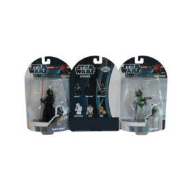 Porte-clés Star wars : lot 6 figurines 3D